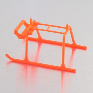 Extreme Edition Landing Skids for Blade MCPX Helicopter- Neon Orange