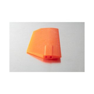 KBDD TW Extreme Edition Paddles for 700 size - Neon Orange- 4mm Flybar