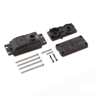 Servo Case Pack - a set & screw - for HV787 Plastic upper case