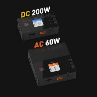 iSDT SMART CHARGER 608AC - 200/50W, 8A, 6S Lipo
