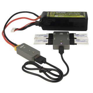 iSDT SMART CHARGER UC4 - 18W, 0,5-1,5A, 4x1S Lipo