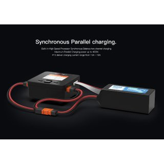 iSDT DUO SMART CHARGER P20 - 2x500W, 20A, 2x8S Lipo